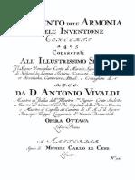 Il Cimento Dell'Armonia e Dell'Inventione, Op.8 (Vivaldi, Antonio)