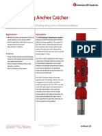 CRTA Rotating Anchor Catcher Technical Datasheet