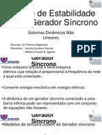 Estudo de Caso de Um Gerador Síncrono2