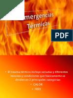 Emergencias Térmicas