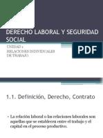 Derecho Laboral y Seguridad Social Unidad 1