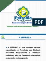 Apresentação Petrobio - Usinas