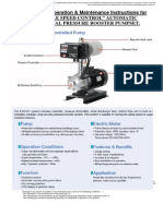 Www.wallacepumps.co.Nz_pdf_Instructions VSD Operated DHF 440,460 Series Horizontal Multistage Pumps
