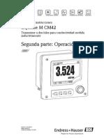 Condutivmetro CM42 - Operao