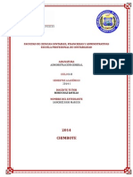 Administración General TareaII ContabilidadIIB-1