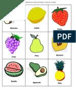 Loteria de Frutas y Verduras Español[1]
