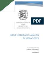 Breve Historia Del Analisis de Vibraciones