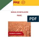 Manual Instalacion Pavic