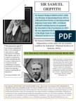 samuel griffith information poster