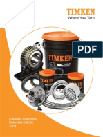 Manual Rodamientos Timken