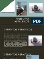 Cementos asfalticos