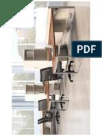 Flexible Office Room Design for Employee