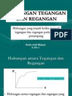 Fisika - Hubungan Tegangan Dan Regangan (Roski Ardi Wijaya)