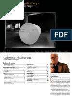 Cadernos de Tipografia e Desing Nr23 Maio de 2012