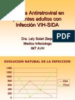 Terapia Antiretroviral Nociones Generales