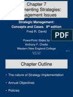 strategic management Chapter 07