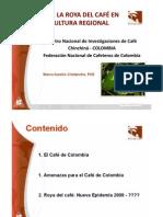 Impacto de La Roya en Colombia