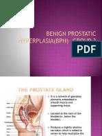 Benign Prostatic Hyperplasia Final