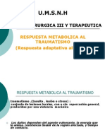 9. Respuesta Metabolica Al Traumatismo