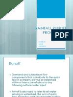 Rainfall Runoff