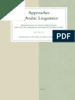 Ditters & Motzki-Approaches to Arabic Linguistics