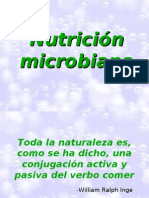 Tema 2 Microbiologia Nutrición, Medios de Cultivo