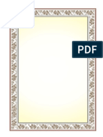 Format Sertifikat, Piagam