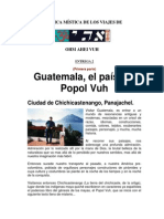 Guatemala, El País Del Popol Vuh