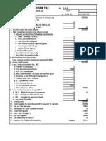 Auto Tax Calculator 2008-09 Version-3