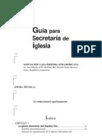 Guía Para Secretaria de Iglesia