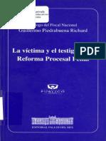 Ministerio Publico - La Victima y El Testigo en La Reforma Procesal Penal