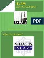Bab 1 Islam Agama Dan Perdaban