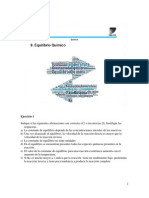 Equilibrio Químico Ejercicios Version Final