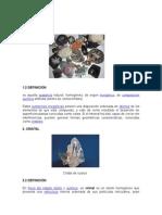 Trabajo Monografico de Rocas-geologiai