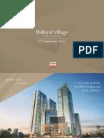 Holland Village Presentation 2014