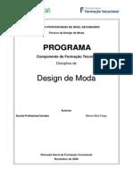 Programa Design de Moda