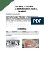 Análisis Sobre Elecciones Municipales 2014 Distrito de Villa El Salvador (1)