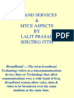 Bband Services & Mnce Aspect It