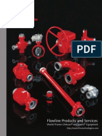 Flowline Products and Services Catalog