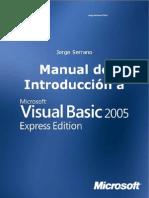 Manual de Introducción a Microsoft Visual Basic 2005 Express