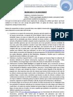 COMUNICADO N° 002-09-DEMOP