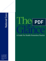 Theory at a Glance. a Guide for Health Promotion Practice