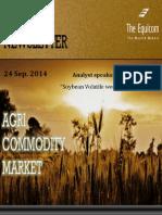 Daily Agri News Letter 24 Sep 2014