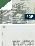 Normas tecnicas de Diseño Para Centos Educativos.pdf