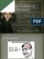 Por Qué El Miedo a La Matemática