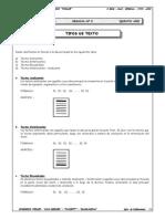 Guía 2 - Tipos de Texto