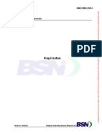 SNI 2983-2014(Kopi Instan)