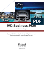 IVD Business Plan Success