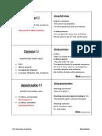 Grammar Cards - Punctuation(1)