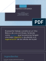 Vino Blanco Con Linaza